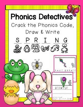 Phonics Detectives: Beginning Sounds Spring Theme