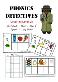 Phonics Detectives Build Words Hands On