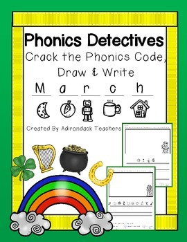 Phonics Detectives: Crack the Phonics Code: March Theme