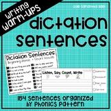 Phonics Dictation Sentences