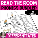 Phonics Read the Room Write the Room Differentiated BUNDLED