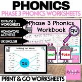 Phonics Digital Activities - Phoneme 'qu'
