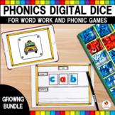 Phonics Digital Dice Growing Bundle