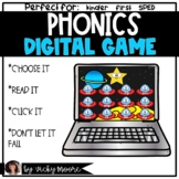 Phonics Digital Game | Distant Learning | CVC and long vow