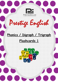 Phonics / Digraph / Trigraph Flashcards 1 ( Jolly Phonics