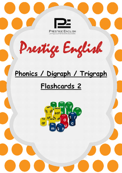 Phonics / Digraph / Trigraph Flashcards 2 ( Jolly Phonics / Letterland ) FREE