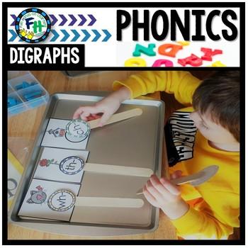 Phonics Digraphs Activity Set