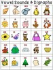 Phonics Digraphs and Vowel Sounds (Single Graphics) Whimsy Workshop Teaching