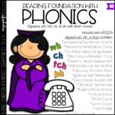 Phonics - Digraphs wh ch tch and ph - Reading Foundation with Phonics