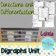 Phonics- Digraphs word work activities