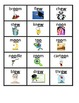 Phonics: Diphthong Word & Picture Cards: oi/oy, ow/ou, au/aw, oo/ew