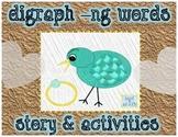 Digraph ng word activities and story