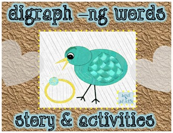 Digraph ng word activities and story