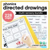 Phonics Directed Drawings Growing Bundle