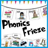 Phonics Display Frieze & Phonics Posters