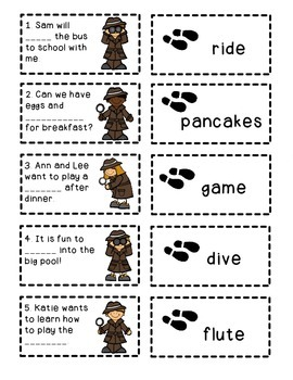 """Phonics Dollar Deal #10: Sneaky """"E"""" Detectives"""