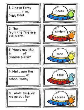 """Phonics Dollar Deal #21: Reading Words with Soft """"c"""""""