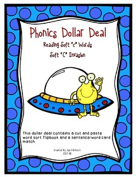 "Phonics Dollar Deal #21: Reading Words with Soft ""c"""
