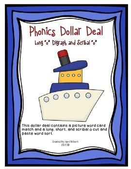 "Phonics Dollar Deal #26: Long, Short, and Scrible ""o"""