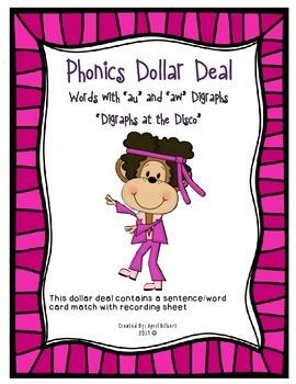 "Phonics Dollar Deal #27: ""Digraphs at the Disco"""