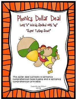 "Phonics Dollar Deal #28: Long ""e"" Super Turkey"