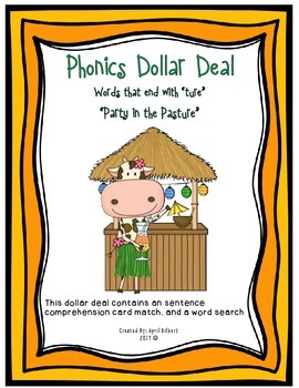 Phonics Dollar Deal #31: Party in the Pasture