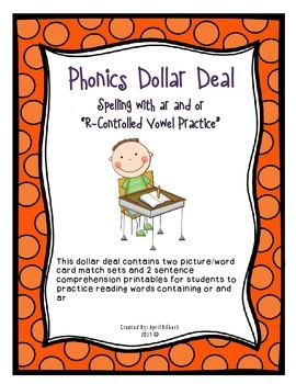 Phonics Dollar Deal #7: R-Controlled Vowels ar and or
