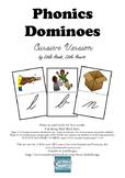 Phonics Dominoes Game Set 1 and 2 Cursive Version