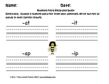Dominoes: Short A & Short I (CVC/CCVC Words)