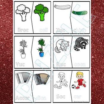 "Phonics ""Double Consonant"" (Puzzle Cards)"
