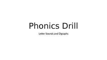 Phonics Drill Powerpoint