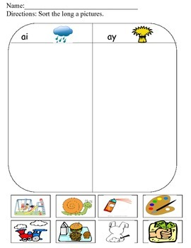 Phonics Early Finisher Packet