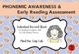 Phonemic Awareness & Early Reading Assessment ( Individual