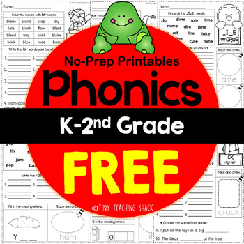 Phonics Easy Printables FREEBIE