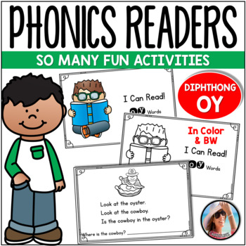 "Phonics Emergent Reader  {Diphthong ""OY""}"