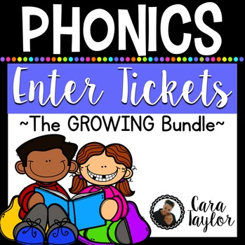 Phonics Enter Tickets Growing Bundle