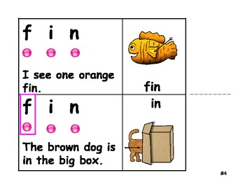 Phonics Exercises-Word Work-Blending Sounds 1