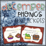 Phonics Exit Tickets~ December