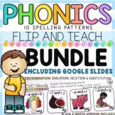 Phonics FLIP and TEACH BUNDLE I Google Slides™ Distance Learning