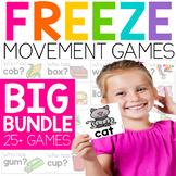 Phonics FREEZE Endless Bundle