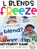 Phonics FREEZE L Blends Game