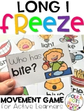 Phonics FREEZE Long I Game