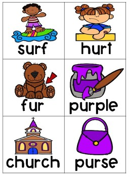 Phonics FREEZE R Controlled Vowels Game