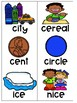 Phonics FREEZE Soft C and Soft G Game