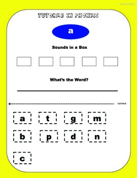 Phonics FULL Packet (ALL LETTERS/SOUNDS)