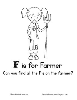 Phonics Farm: F is for Farmer