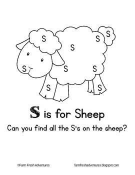 Phonics Farm: S is for Sheep