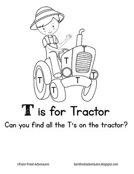 Phonics Farm: T is for Tractor