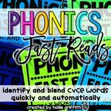 CVCe Decoding Strategies {Magic e, Bossy e, Silent e} Phonics Fast Reads