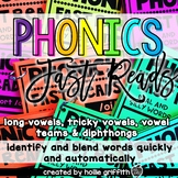 Phonics Fast Reads: Long Vowels, Vowel Teams, Tricky Vowel